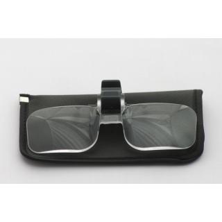 Brillenlupe mit Clip  (2 fach)