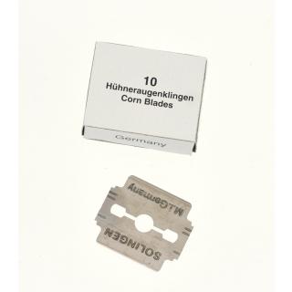 Hornhauthobel-Klingen 10 Stück