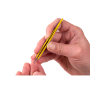 Feine spitze Pinzette gelb 10cm