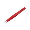 Feine spitze Pinzette rot 10cm