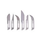 Skalpell-Klingen-Set für flache und runde Griffe...