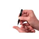Feine spitze Pinzette schwarz 10cm